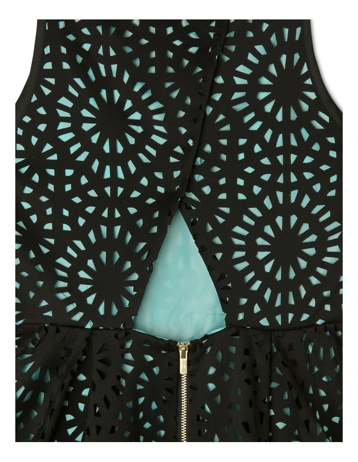 Lucy Woven Laser Cut Dress (9-16 Years) image 4