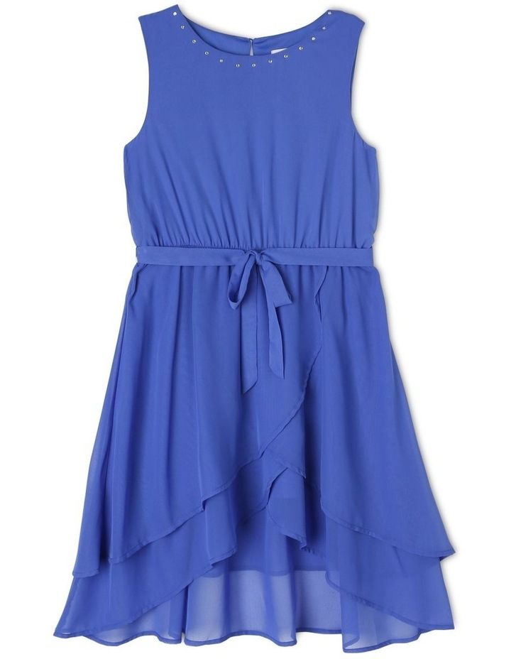 Sophie Woven Dress With Belt (9-16 Years) image 1