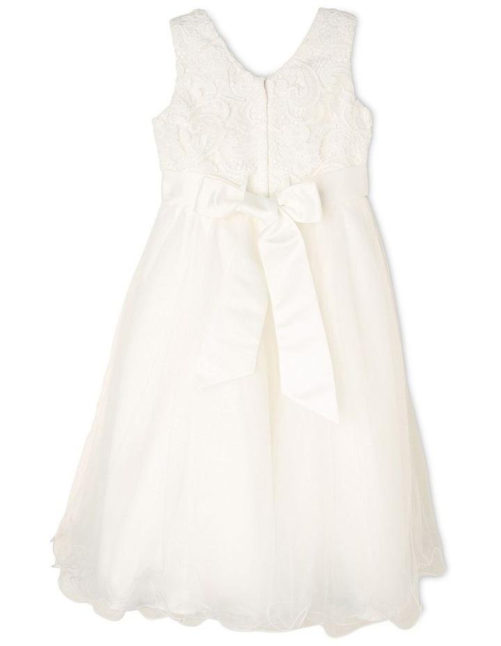 Zara Woven Flower Girl Dress (3-16 Years) image 2