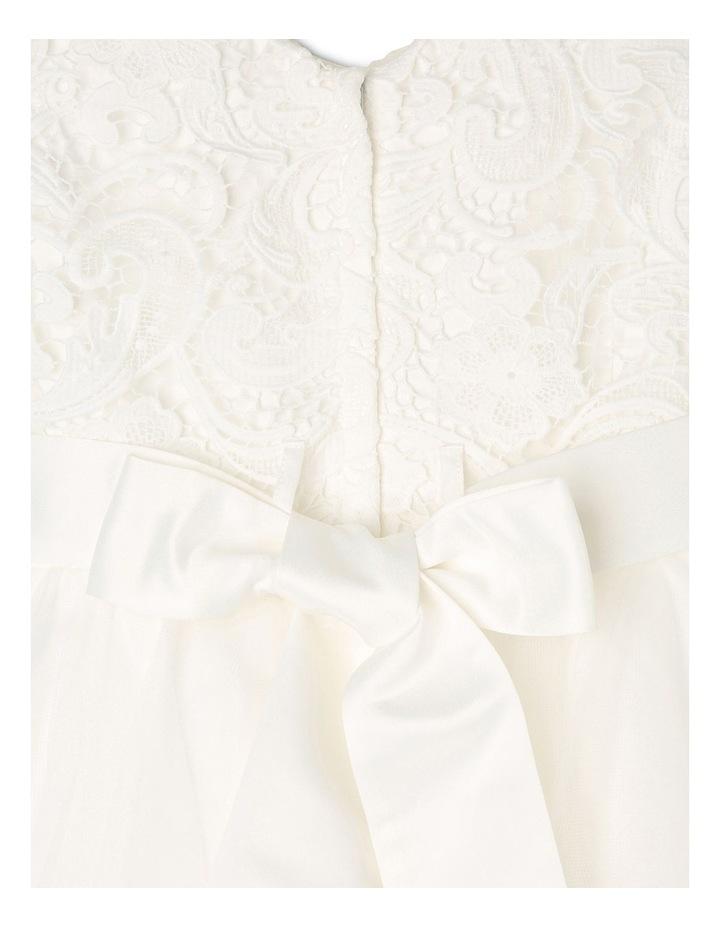 Zara Woven Flower Girl Dress (3-16 Years) image 4