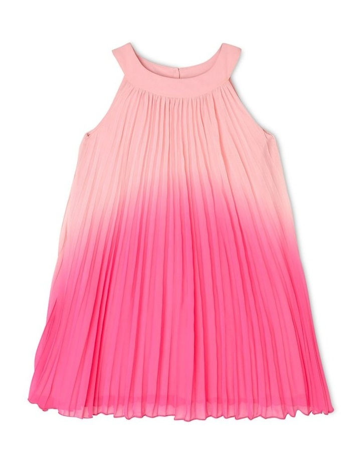 Evie High-Neck Pleat Dress (3-8 Years) image 1