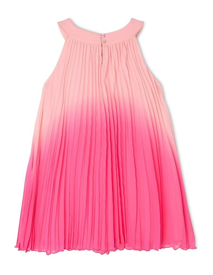 Evie High-Neck Pleat Dress (3-8 Years) image 2
