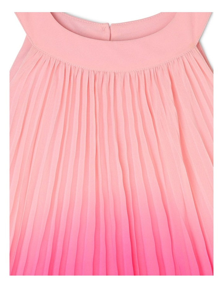 Evie High-Neck Pleat Dress (3-8 Years) image 3