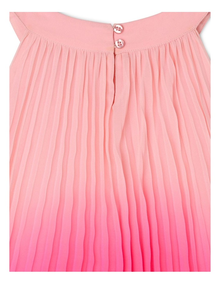 Evie High-Neck Pleat Dress (3-8 Years) image 4