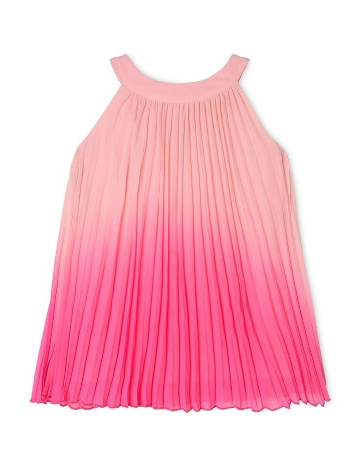 Evie High-Neck Pleat Dress (0-2 Years) image 1