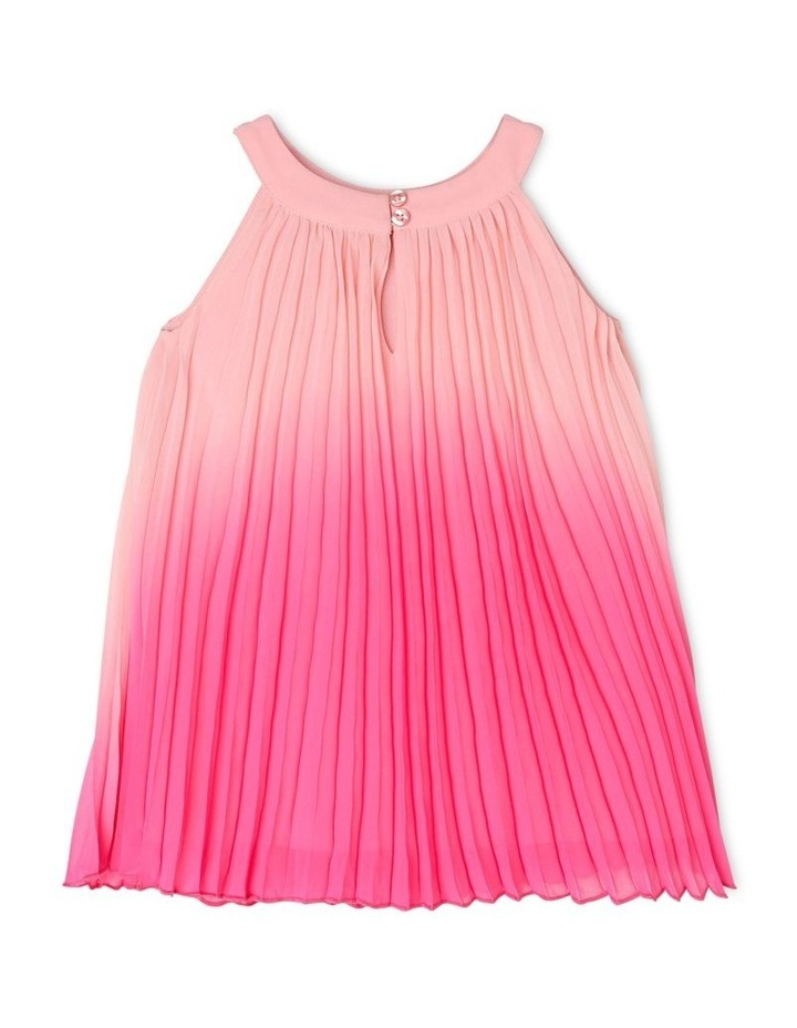 Evie High-Neck Pleat Dress (0-2 Years) image 2