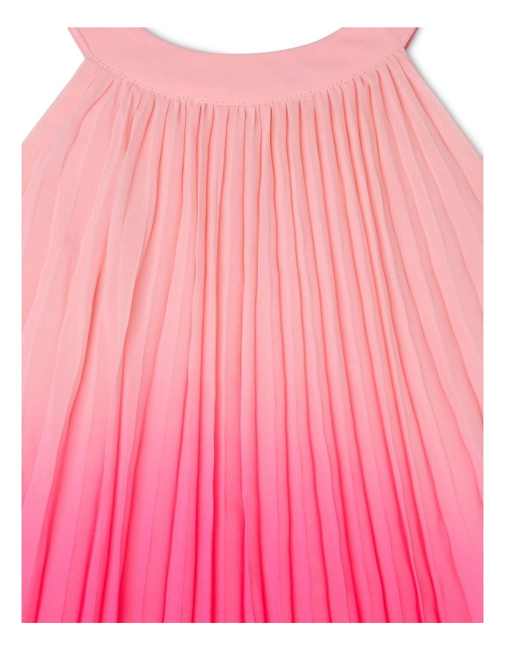 Evie High-Neck Pleat Dress (0-2 Years) image 3