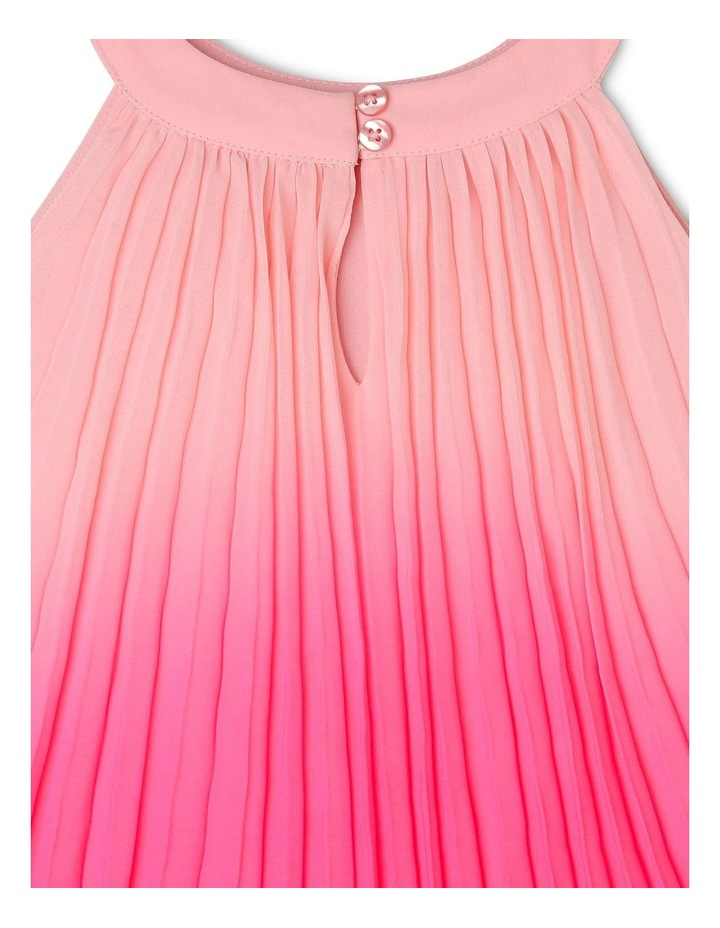 Evie High-Neck Pleat Dress (0-2 Years) image 4
