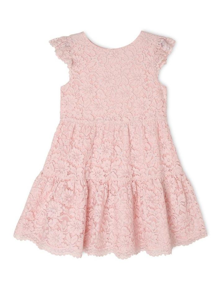 Eleni Woven Flutter Sleeve Dress (3-8 Years) image 1