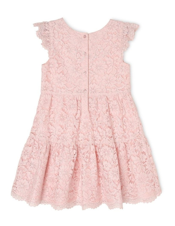 Eleni Woven Flutter Sleeve Dress (3-8 Years) image 2