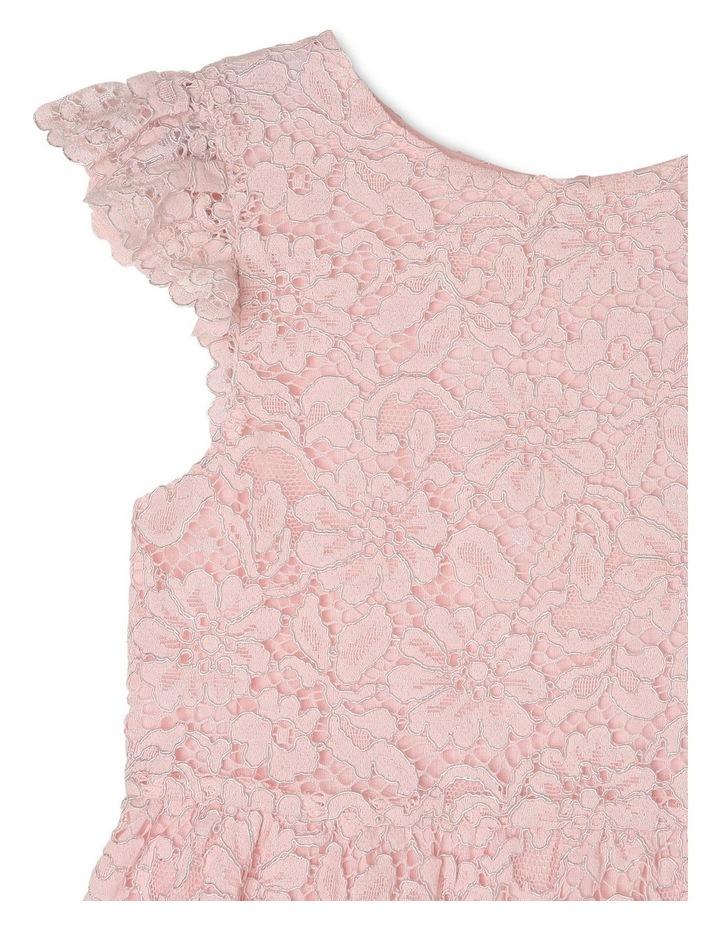 Eleni Woven Flutter Sleeve Dress (3-8 Years) image 3