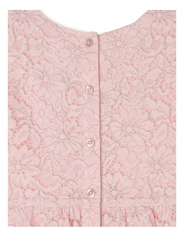 Eleni Woven Flutter Sleeve Dress (3-8 Years) image 5