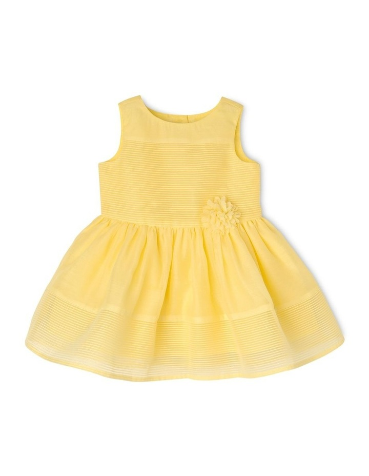 Scarlett Woven Stripe Party Dress (0-2 Years) image 1