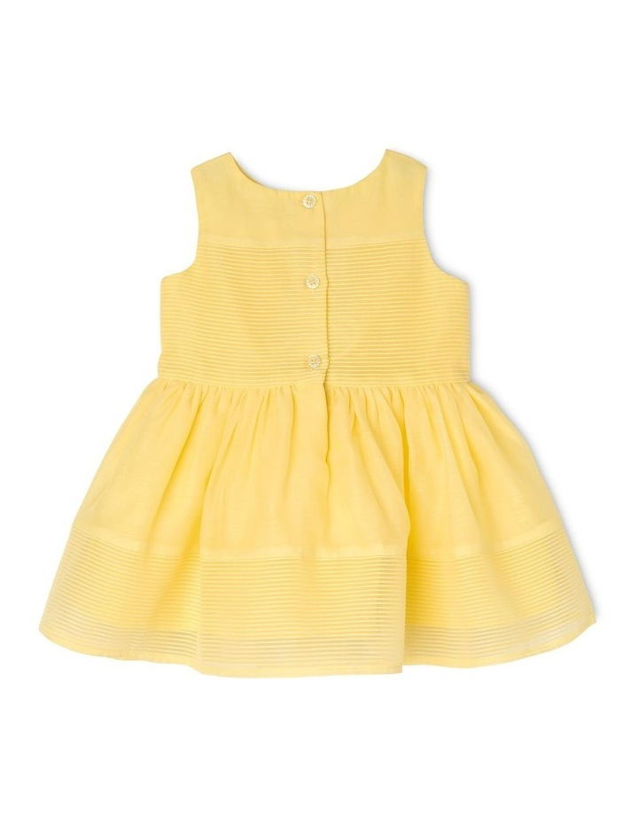 Scarlett Woven Stripe Party Dress (0-2 Years) image 2