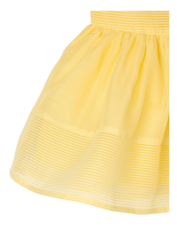 Scarlett Woven Stripe Party Dress (0-2 Years) image 4