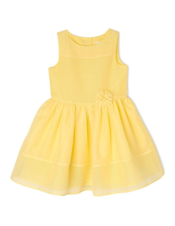 Scarlett Woven Stripe Party Dress (3-8 Years) image 1