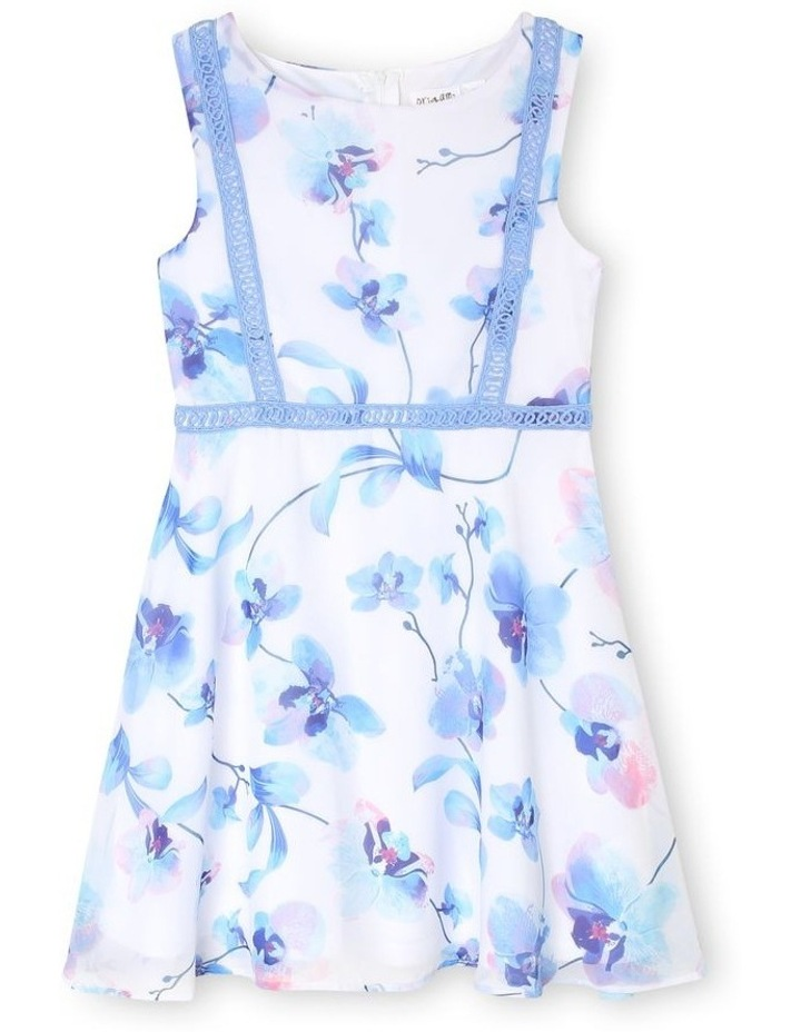 Annabelle Woven Fit and Flare Dress (3-16 Years) image 1