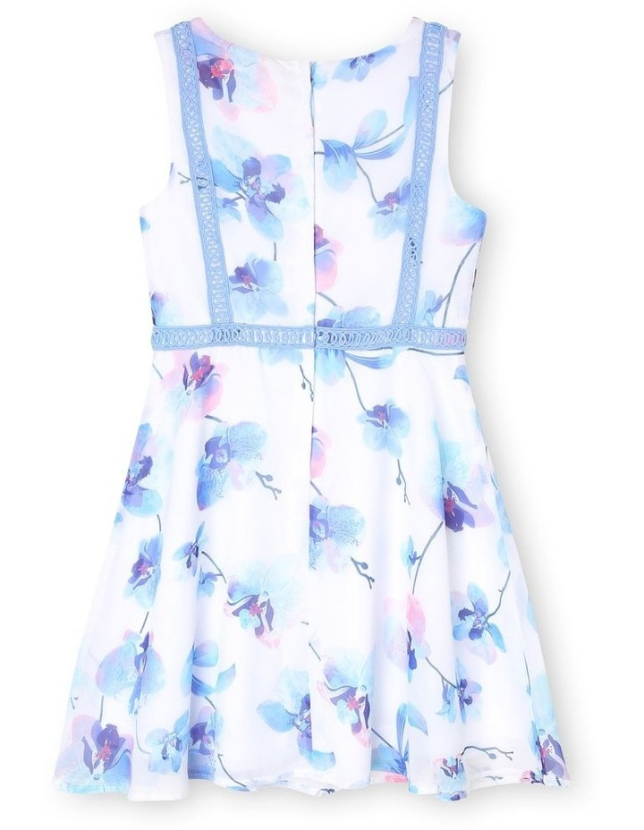 Annabelle Woven Fit and Flare Dress (3-16 Years) image 2