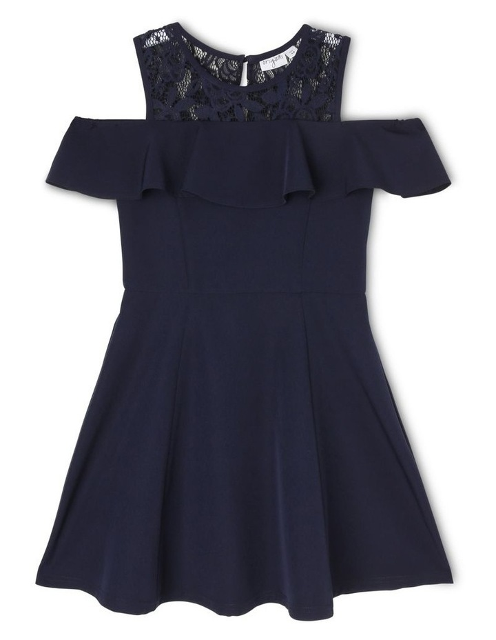 Clover Cold Shoulder Party Dress (3-16 Years) image 1