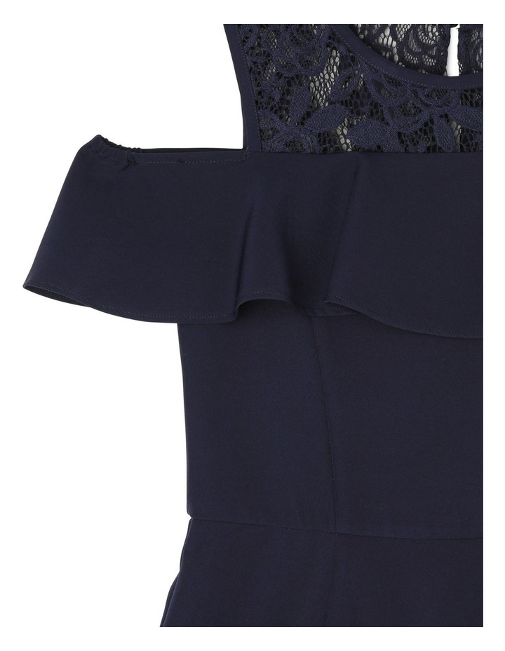 Clover Cold Shoulder Party Dress (3-16 Years) image 3