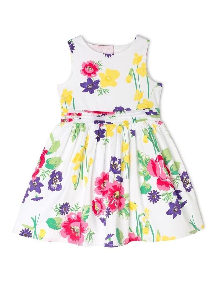 Maisie Poplin Party Dress - Floral image 1
