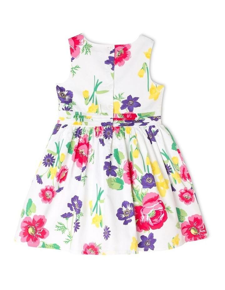 Maisie Poplin Party Dress - Floral image 2