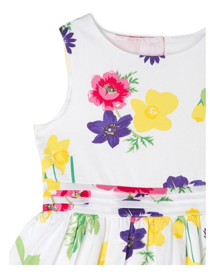 Maisie Poplin Party Dress - Floral image 3