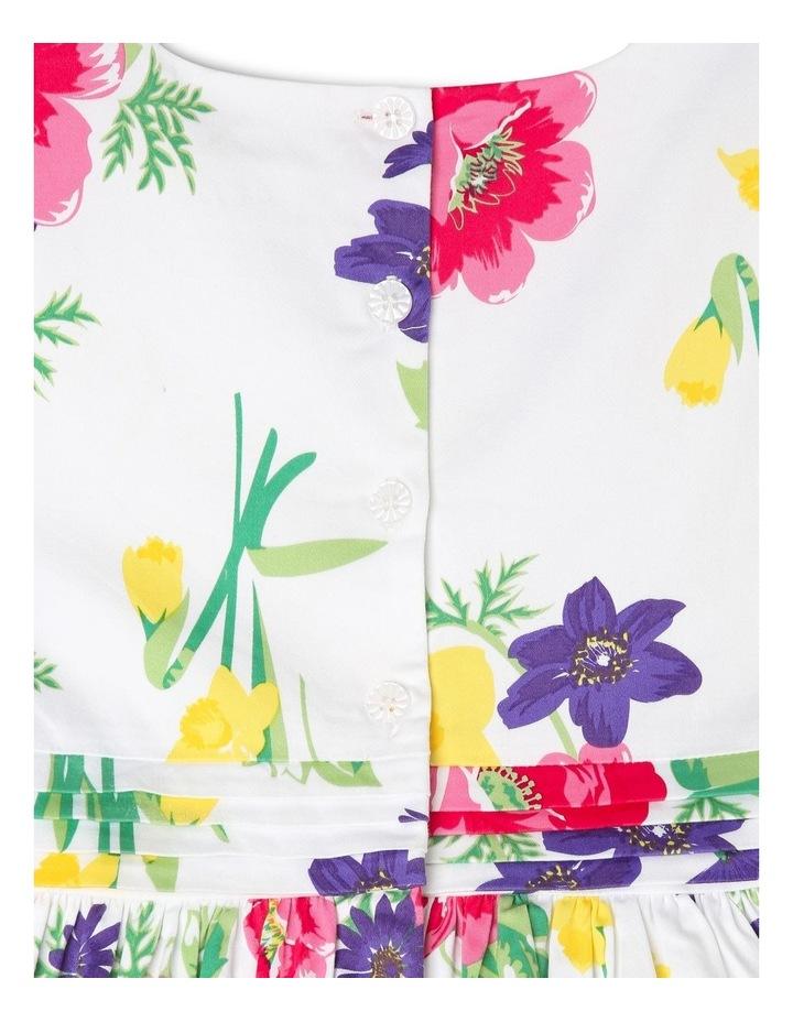 Maisie Poplin Party Dress - Floral image 4