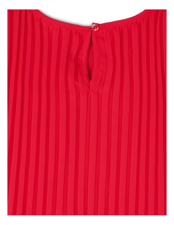 'Flora' Flutter Sleeve Shift Dress (3-8 Years) image 4