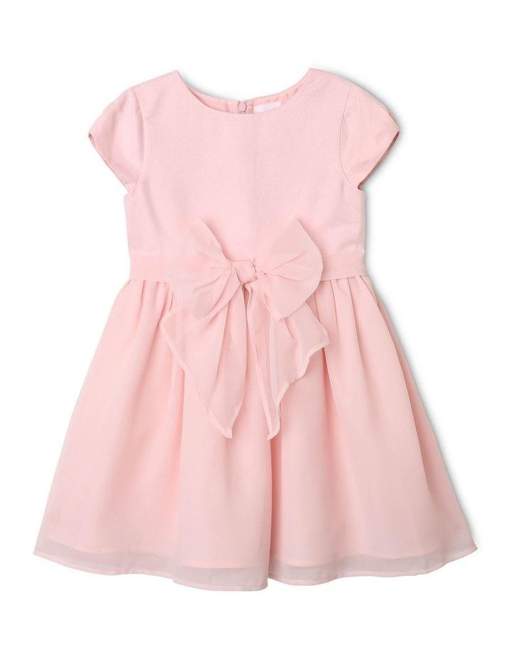 Jade Chiffon Bow Dress image 1
