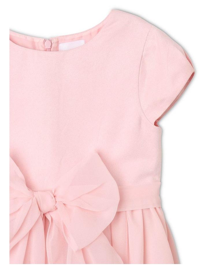 Jade Chiffon Bow Dress image 3