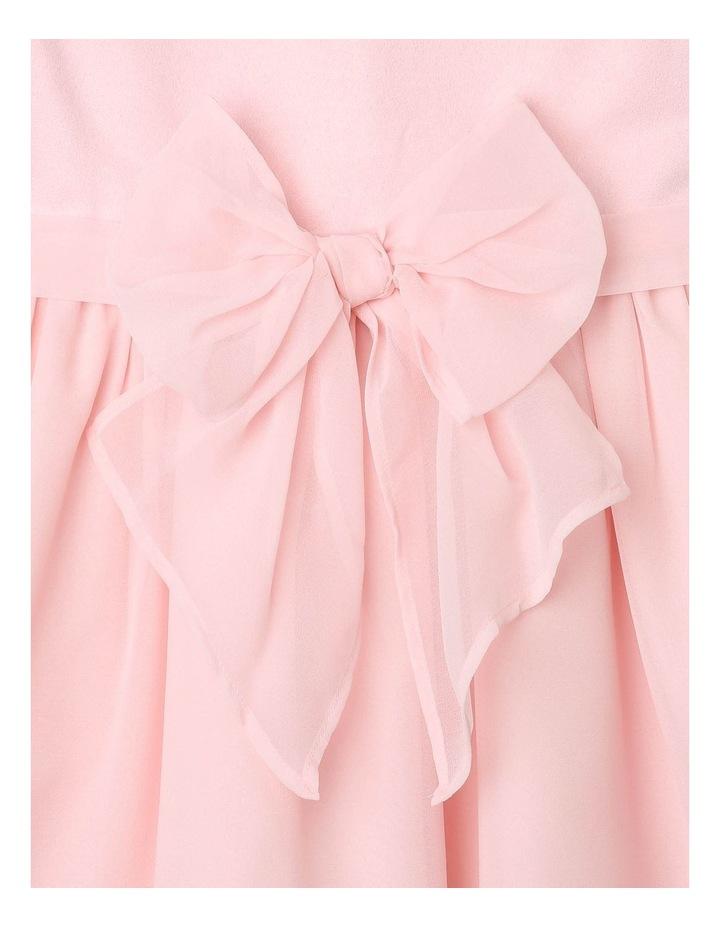 Jade Chiffon Bow Dress image 4