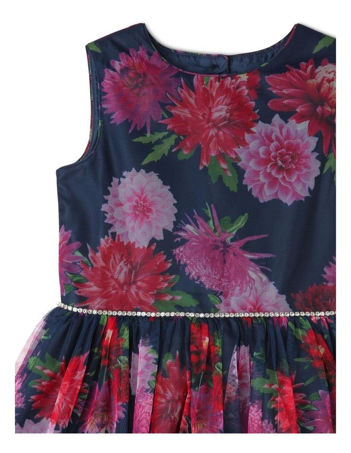 Bree Diamante Trim Dress (1-8 Years) image 3