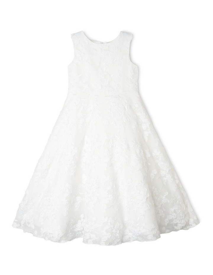 Eden White Flower Girl Dress image 1