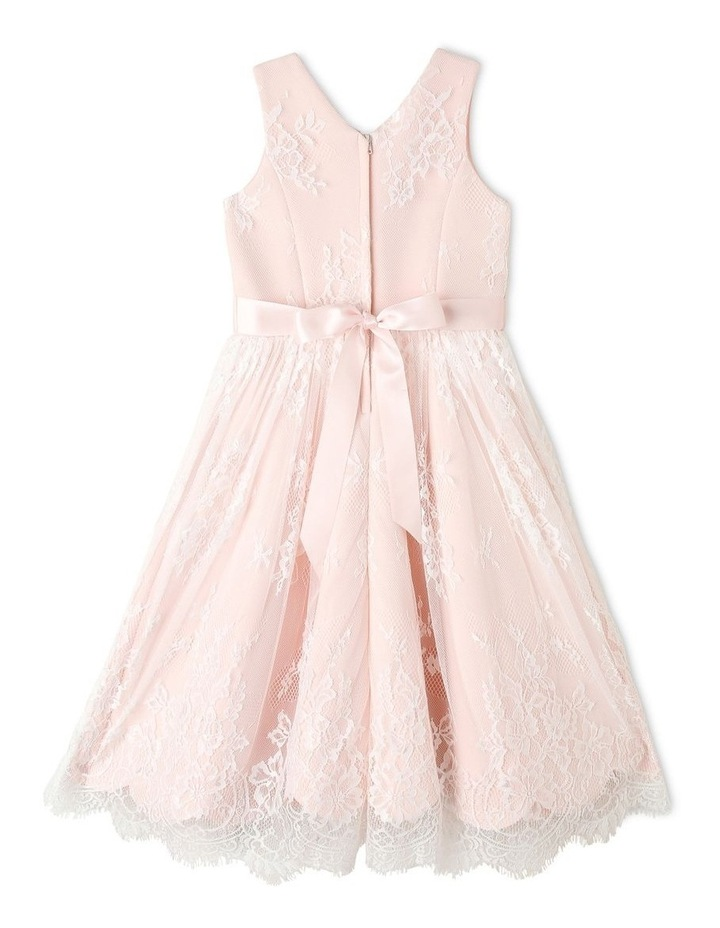 Charlie Woven Scalloped Lace Dress (3-8 Years) image 2