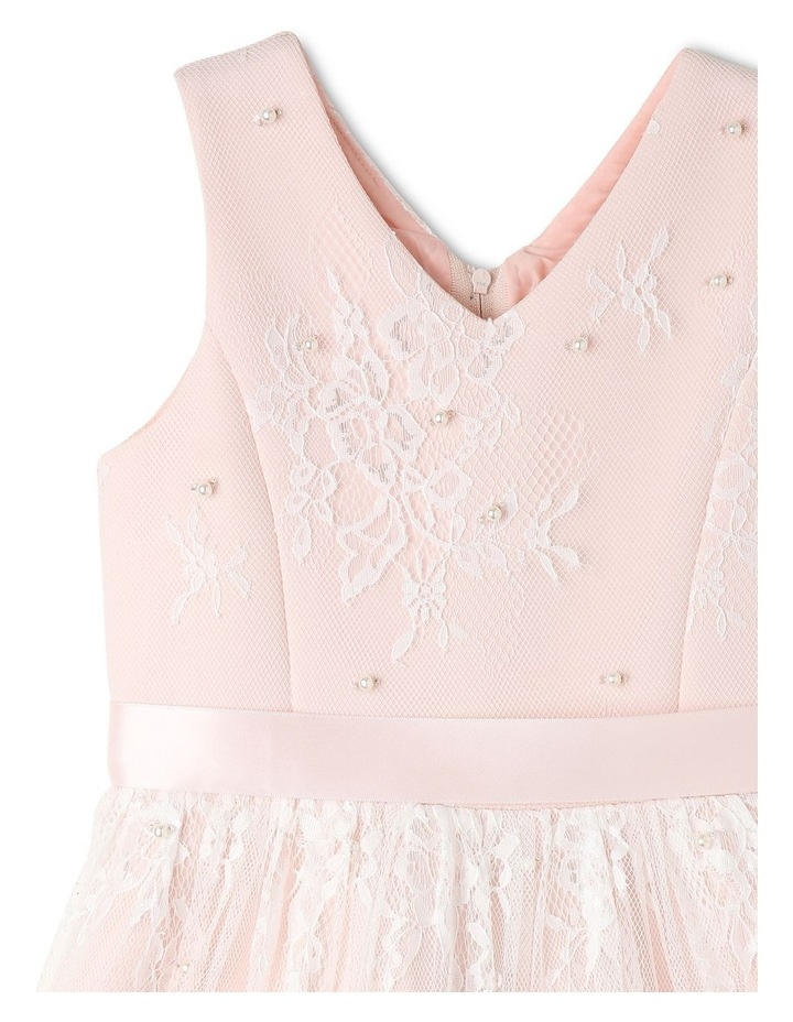 Charlie Woven Scalloped Lace Dress (3-8 Years) image 3