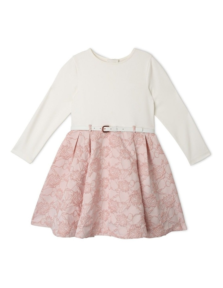 Rae Jacquard Skirt Dress (1-8 Years) image 1
