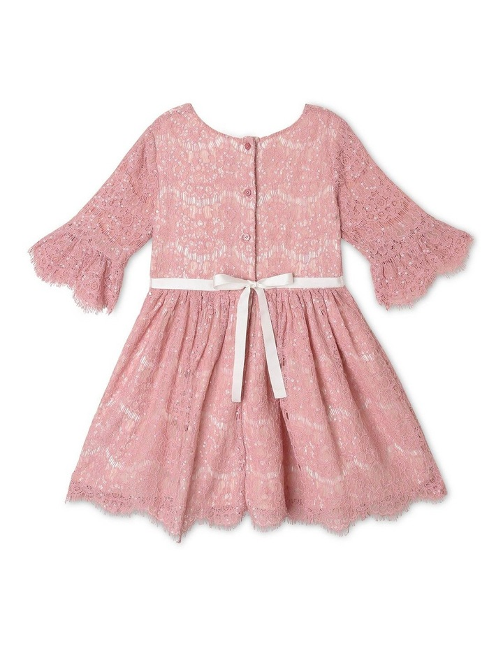 Sahara Sequin Lace Dress (1-8 Years) image 2