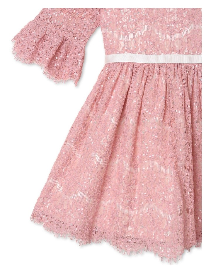 Sahara Sequin Lace Dress (1-8 Years) image 3