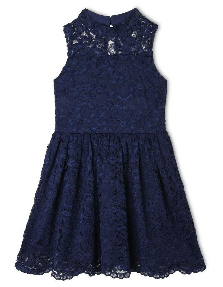 Sophie High-Neck Lace Dress image 1