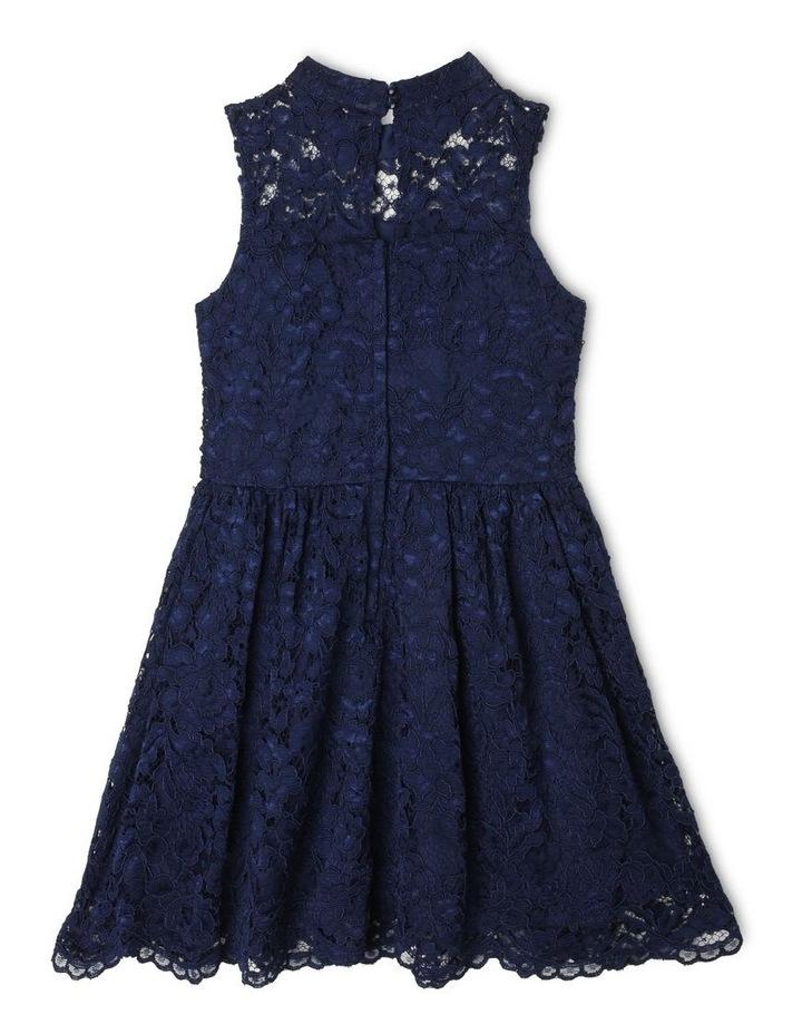 Sophie High-Neck Lace Dress image 2