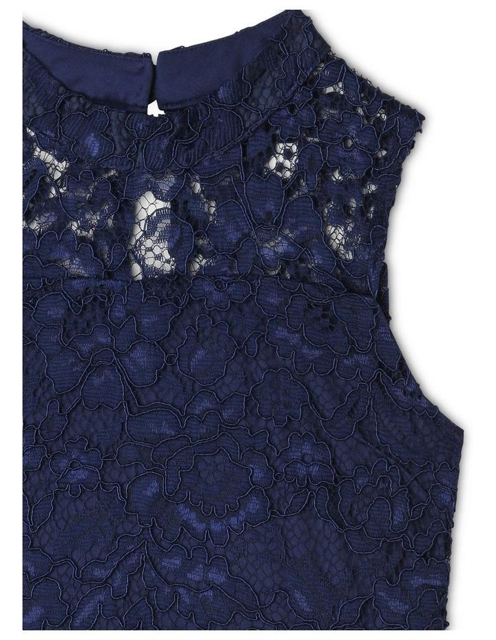 Sophie High-Neck Lace Dress image 3