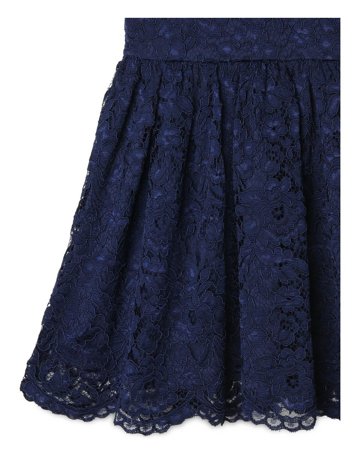 Sophie High-Neck Lace Dress image 5