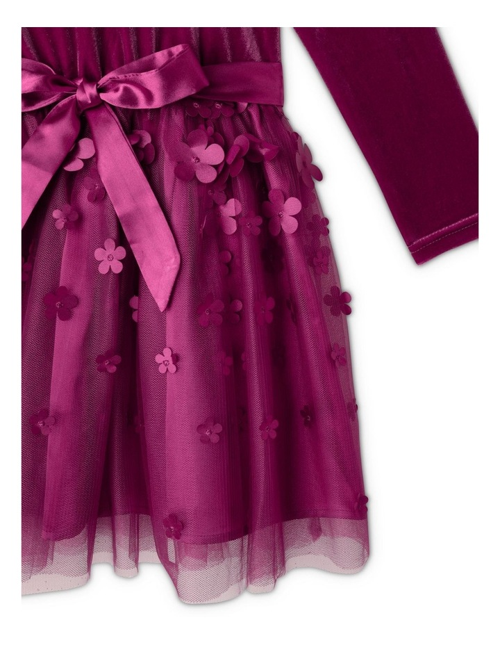 Hazel Velour Dress (1-8 Years) image 3