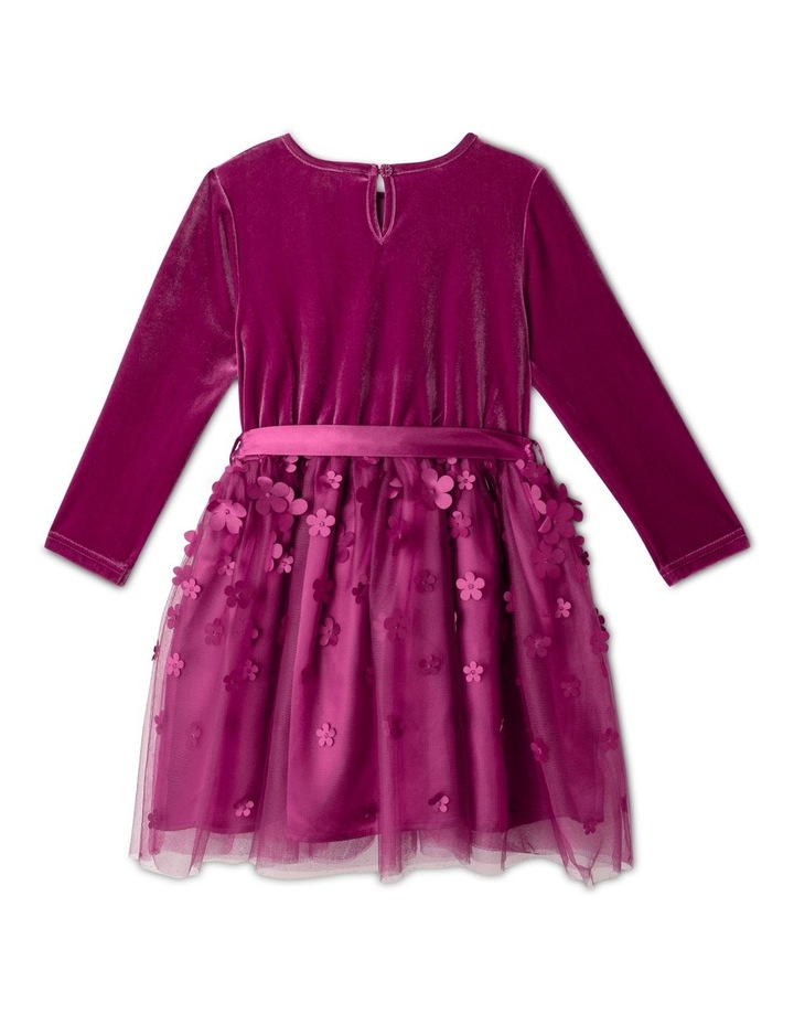 Hazel Velour Dress (1-8 Years) image 5