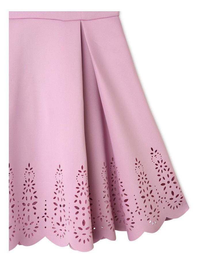 Ada Laser Cut Dress (9-16 Years) image 3