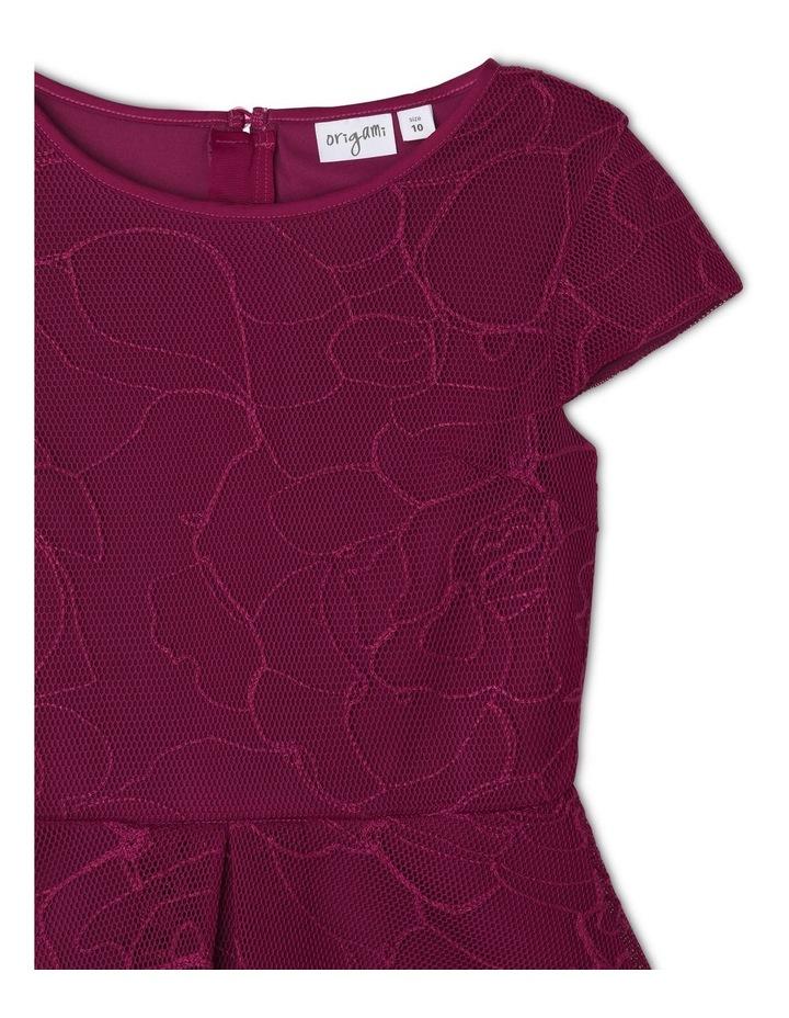 Imogen Embroidered Mesh Dress image 3