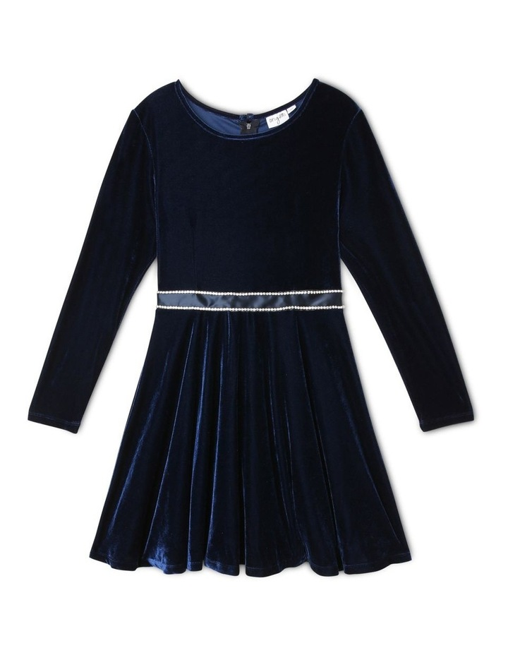 Isabella Velour Dress (9-16 Years) image 1