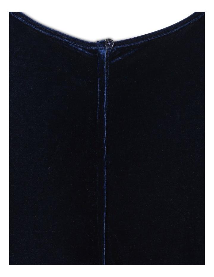 Isabella Velour Dress (9-16 Years) image 4