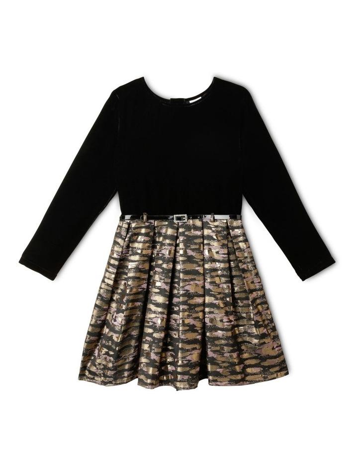 Rachel Velour Dress (9-16 Years) image 1